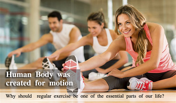 Human Body was created for motion